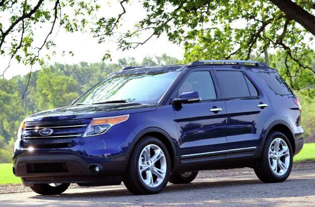 The Ford Explorer has been redesigned with a crossover format, but it retains the three-row configuration and towing capabilities of its truck-style predecessor. COURTESY OF FORD MOTOR CO. Photo: Ford Motor Co., COURTESY OF FORD MOTOR CO.