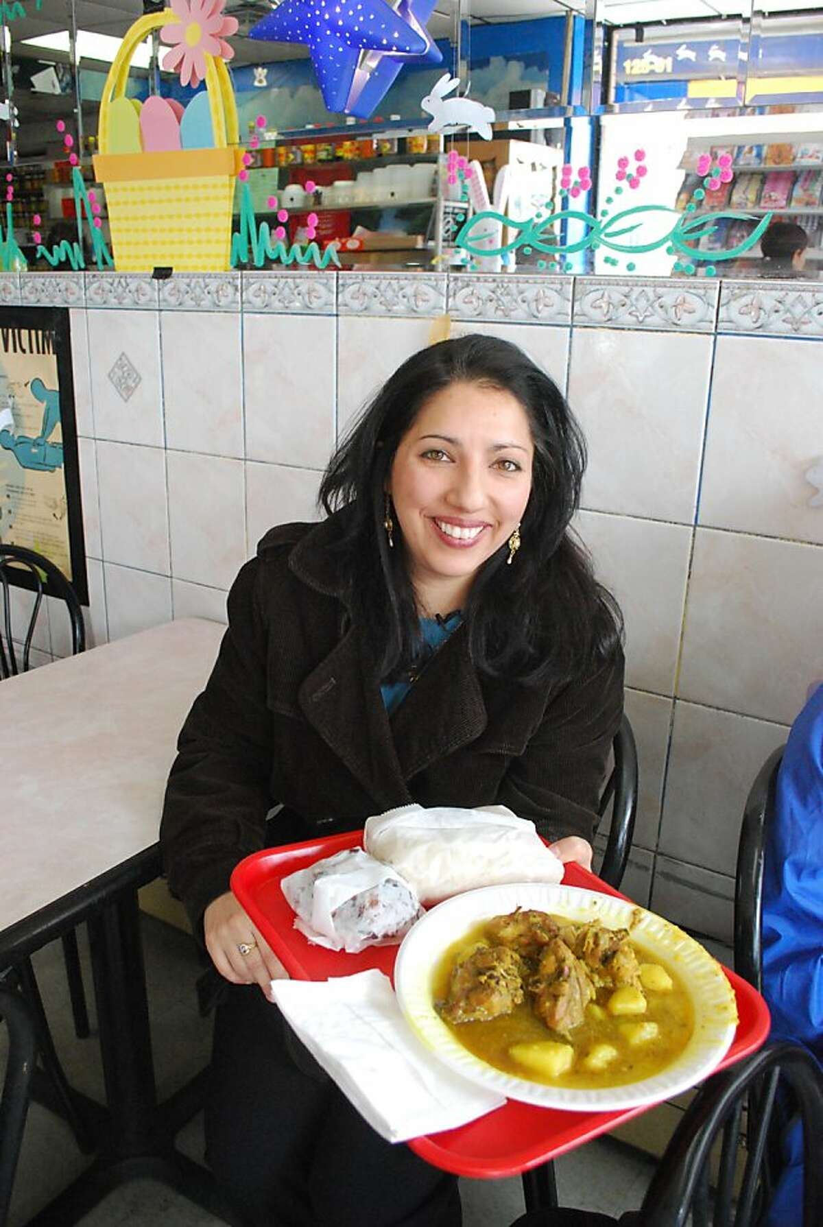 Ramin Ganeshram, foodie, chef and author of