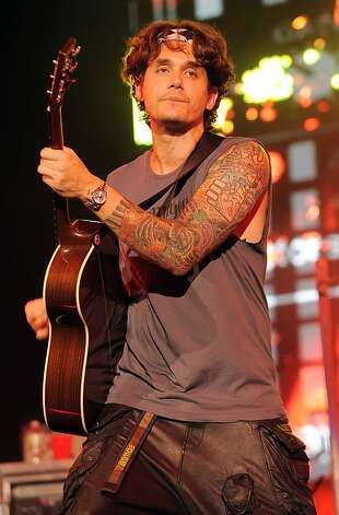 Rocker John Mayer has a full sleeve of tattoos. Photo: Jeff Daly / WENN.com