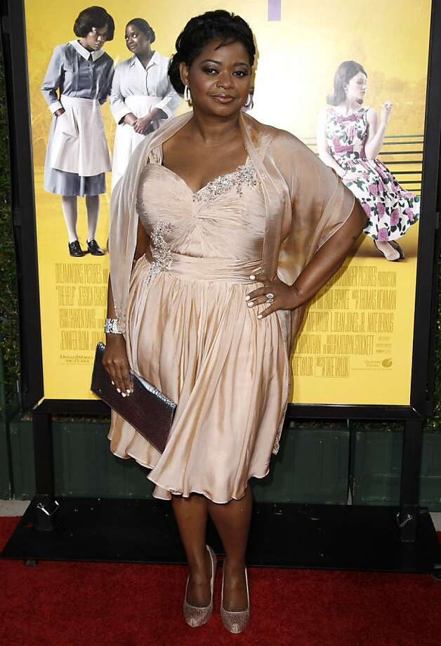 "Cast member Octavia Spencer arrives at the premiere of ""The Help"" in Beverly Hills, Calif., Tuesday, Aug. 9, 2011.  ""The Help"" opens in theaters Aug. 10, 2011. (AP Photo/Matt Sayles) Photo: Matt Sayles, AP"