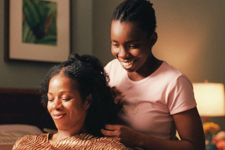"(L-R) Kim Wayans as Audrey and Adepero Oduye as Alike in ""Pariah."""