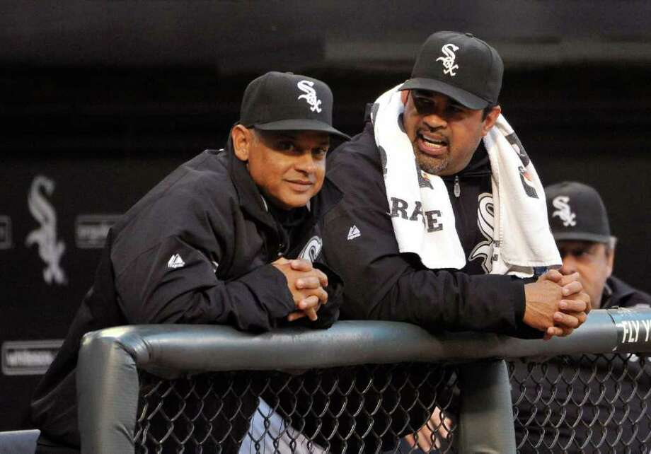 Joey CoraNow - Hired by the Chicago White Sox in 2003 and promoted to bench coach in 