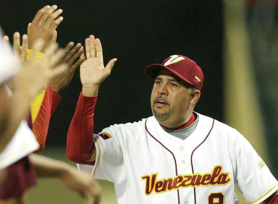 Luis SojoNow– After retiring a Yankee in  2003, Sojo spent two seasons as third base coach for New York, after  which he was hired to manage the Yankees' Class A Advanced affiliate –  Tampa Yankees. During the 2006 and 2009 Word Baseball Classic, Sojo  served as manager for the Venezuelan national team. Photo: Doug Benc, Getty Images / 2006 Getty Images