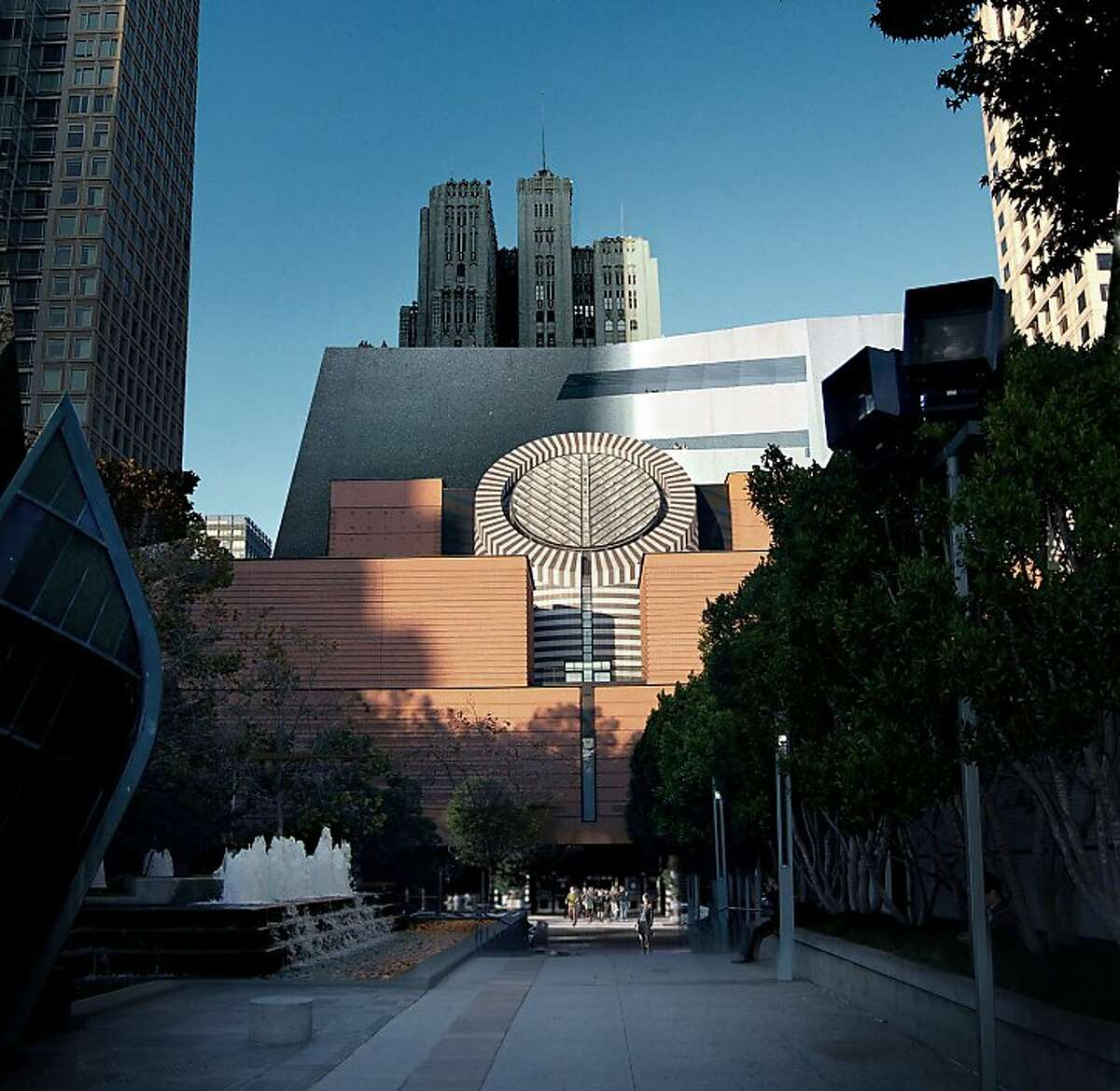 The proposed addition to the San Francisco Museum of Modern Art.