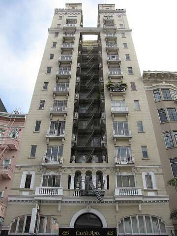 The Castle Apartments In Tenderloin Doesn T Turn Many Heads Partly Because It S