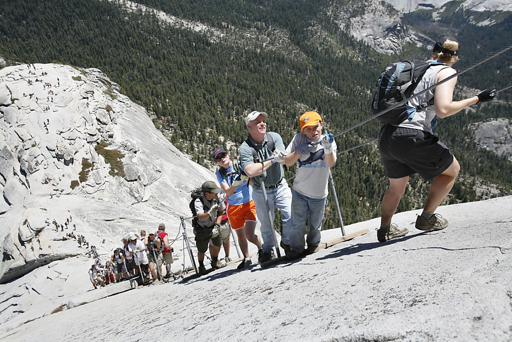 Half Dome Climber From San Ramon Falls To Death Sfgate