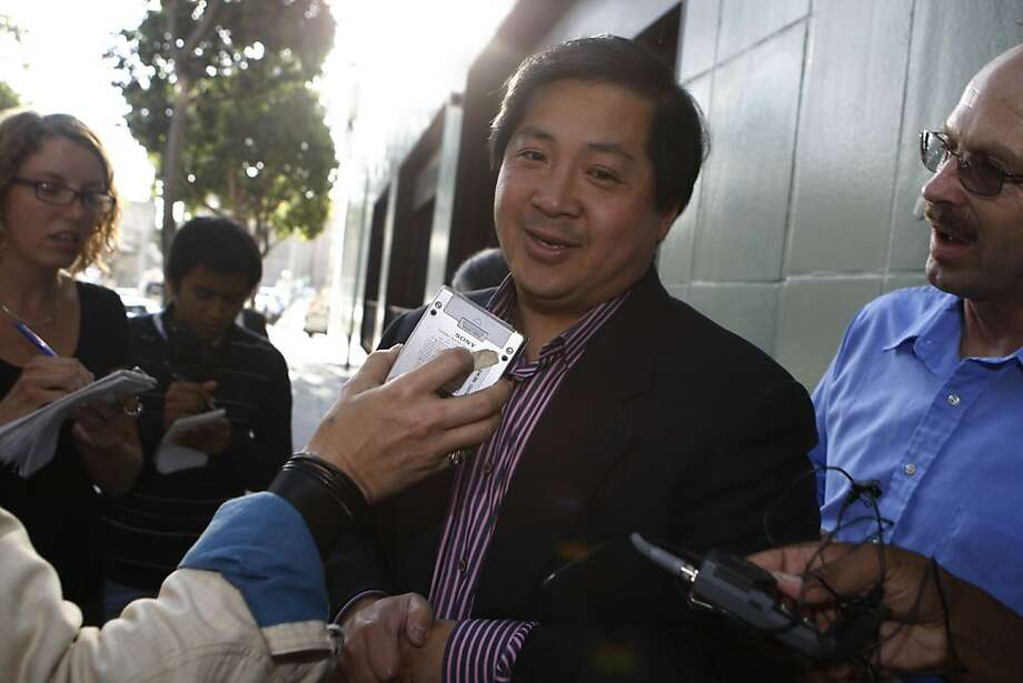 James Fang, Vice President of the BART board arrives at 2201 22nd Street shortly before a press conference announcing a tentative agreement in Oakland, Calif. on Sunday, August 16, 2009.  Ran on: 08-17-2009 Photo caption Dummy text goes here. Dummy text goes here. Dummy text goes here. Dummy text goes here. Dummy text goes here. Dummy text goes here. Dummy text goes here. Dummy text goes here.###Photo: bart17_PH1_fang1250294400SFC###Live Caption:James Fang, Vice President of the BART board arrives at 2201 22nd Street shortly before a press conference announcing a tentative agreement in Oakland, Calif. on Sunday, August 16, 2009.###Caption History:James Fang, Vice President of the BART board arrives at 2201 22nd Street shortly before a press conference announcing a tentative agreement in Oakland, Calif. on Sunday, August 16, 2009.###Notes:###Special Instructions:MANDATORY CREDIT FOR PHOTOG AND SAN FRANCISCO CHRONICLE-NO SALES-MAGS OUT Ran on: 08-17-2009 Photo caption Dummy text goes here. Dummy text goes here. Dummy text goes here. Dummy text goes here. Dummy text goes here. Dummy text goes here. Dummy text goes here. Dummy text goes here.###Photo: bart17_PH1_fang1250294400SFC###Live Caption:James Fang, Vice President of the BART board arrives at 2201 22nd Street shortly before a press conference announcing a tentative agreement in Oakland, Calif. on Sunday, August 16, 2009.###Caption History:James Fang, Vice President of the BART board arrives at 2201 22nd Street shortly before a press conference announcing a tentative agreement in Oakland, Calif. on Sunday, August 16, 2009.###Notes:###Special Instructions:MANDATORY CREDIT FOR PHOTOG AND SAN FRANCISCO CHRONICLE-NO SALES-MAGS OUT   Ran on: 10-25-2010 James  Fang  Ran on: 06-13-2011 BART Director James Fang backed a plan for a hotel Photo: Lea Suzuki, The Chronicle