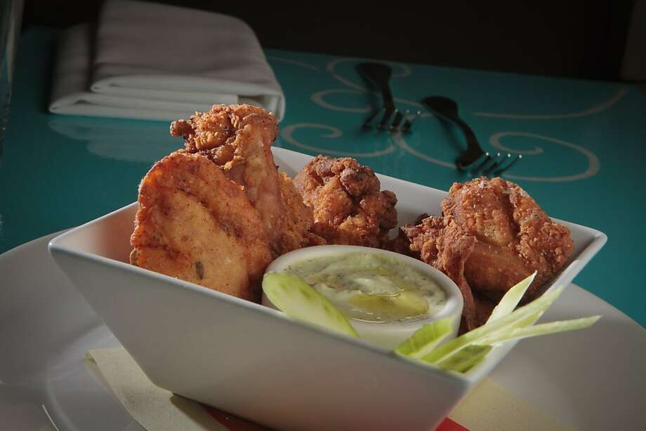 The Fried Chicken Thighs at Bottle Cap Restaurant in San Francisco, Calif., is seen on August 23rd, 2011. Photo: John Storey, Special To The Chronicle