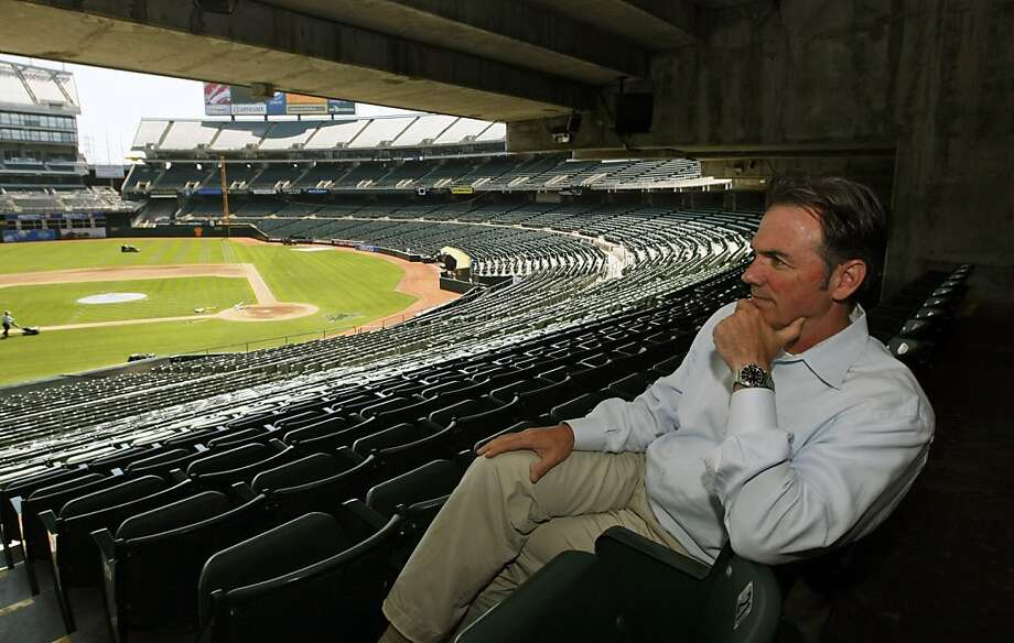Billy Beane Oakland Athletics General Manager and Part owner  Friday June 26, 2009. Ran on: 07-12-2009 A's general manager Billy Beane can sympathize with Oakland fans' frustration and thinks wins and more good times are right around the corner. Ran on: 07-12-2009 A's general manager Billy Beane can sympathize with Oakland fans' frustration and thinks wins and more good times are right around the corner. Photo: Lance Iversen, The Chronicle