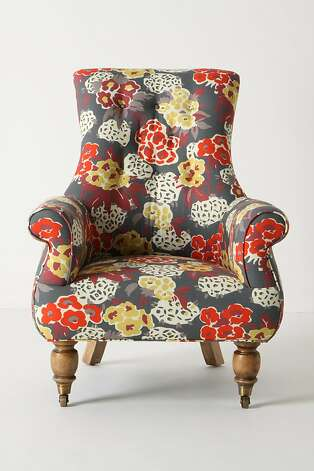Posy Astrid Chair from Anthropologie, $1,698 Photo: Anthropologie