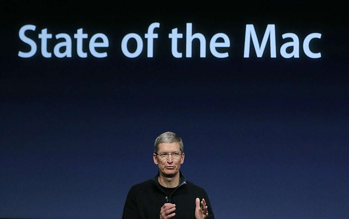 CUPERTINO, CA - FILE: Apple COO Tim Cook speaks during an Apple special event at the company's headquarters on October 20, 2010 in Cupertino, California. Its been reported that Steve Jobs has resigned and Apple's board has named COO Tim Cook as the company's new CEO August 24, 2011. (Photo by Justin Sullivan/Getty Images)