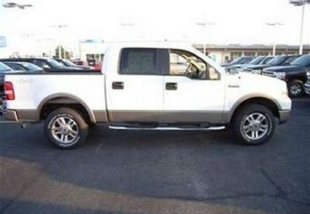 A pickup truck like this one is believed to have been the vehicle that killed San Francisco official Donald Casper as he was jogging in Sonoma County on Aug. 14. Photo: California Highway Patrol
