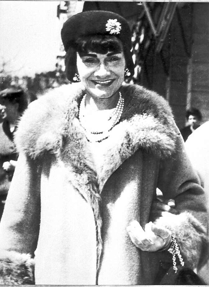 "French fashion designer Gabrielle ""Coco"" Chanel is shown in this undated photo. (AP Photo) Ran on: 04-22-2008 Gabrielle &quo;Coco&quo; Chanel, French icon of fashion and flair. Ran on: 09-13-2008 Shirley MacLaine stars as the older Coco Chanel making a comeback in 1954 in Lifetime Network's biopic &quo;Coco Chanel.&quo; Ran on: 03-01-2009 The apartment of the late designer Coco Chanel will play a role in Willie Brown's 75th birthday party. Photo: AP"