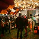 Wine Lands, a tent showcasing 30 regional wineries, drew crowds at the fourth annual Outside Lands Music and Arts Festival, held at Golden Gate Park.