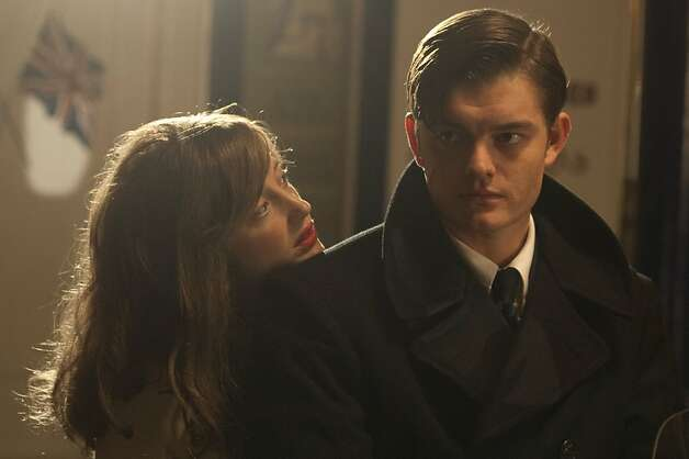 Andrea Riseborough as ÒRoseÓ and Sam Riley as ÒPinkieÓ in BRIGHTON ROCK, directed by Rowan Joffe. Photo: Alex Bailey, IFC Films Release