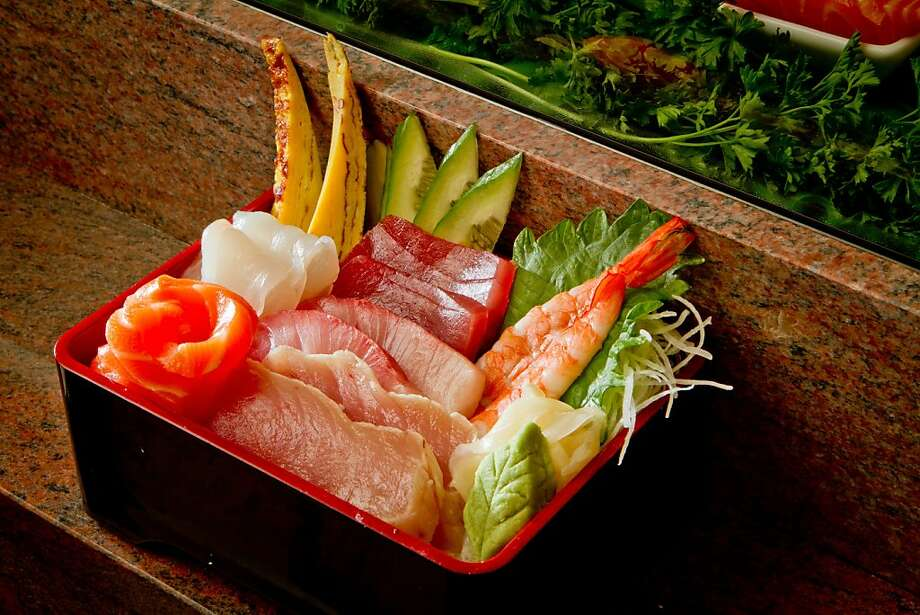 The Chirashi Zushi at Ocean Bliss restaurant in Pleasanton, Calif., is seen on August 11th, 2011. Photo: John Storey, Special To The Chronicle
