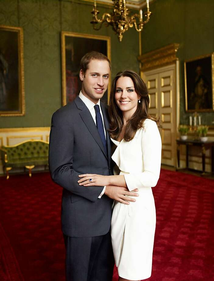 LONDON - NOVEMBER 25: (NO SALES/EDITORIAL USE ONLY) In this handout photo, one of two official portrait photographs, Prince William and Miss Catherine Middleton have chosen to release to mark their engagement, released by Clarence House Press Office on December 12, 2010, Prince William and Miss Catherine Middleton pose in the Council Chamber in the State Apartment in St James's Palace on November 25, 2010 in London, England. (Mandatory Credit/Photo by Mario Testino/Clarence House Press Office via Getty Images)These photographs are for editorial use only and are not approved photographs for souvenirs and memorabilia. The photographs should be accompanied by a caption explaining that the photographs were taken as the official portrait photographs for the engagement of Prince William and Miss Catherine Middleton. Mario Testino must be credited as the photographer (Copyright 2010 Mario Testino). The photographs must not be digitally enhanced, manipulated or modified, and must include Prince William and Miss Catherine Middleton when published. There is no charge for the supply, release or publication of these official photographs for editorial use. Any use outside these terms must be cleared by the Clarence House Press Office. Ran on: 02-20-2011 Watching Prince William and Kate Middleton marry in April will be members several royal families, friends, military personnel and charity workers.  Ran on: 04-24-2011 Photo caption Dummy text goes here. Dummy text goes here. Dummy text goes here. Dummy text goes here. Dummy text goes here. Dummy text goes here. Dummy text goes here. Dummy text goes here.###Photo: fiveplaces24_ph11291852800Getty Images Europe###Live Caption:LONDON - NOVEMBER 25: (NO SALES-EDITORIAL USE ONLY) In this handout photo, one of two official portrait photographs, Prince William and Miss Catherine Middleton have chosen to release to mark their engagement, released by Clarence House Press Office on Photo: Handout, Getty Images