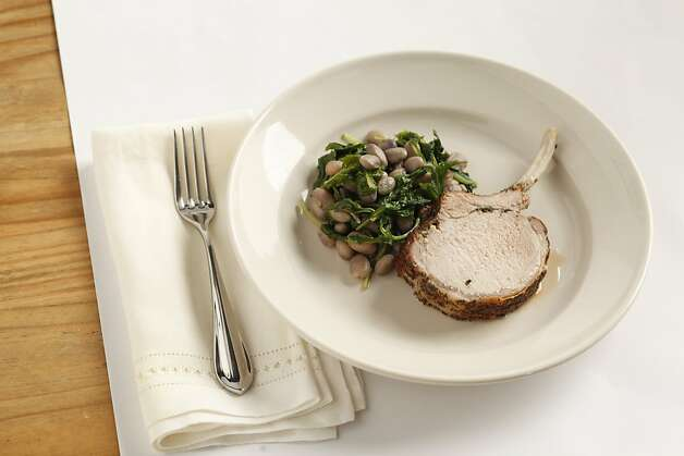Roasted Pork with Beans as seen in San Francisco, California, on Wednesday, August 3, 2011. Food styled by Rochelle Vurek. Photo: Craig Lee, Special To The Chronicle