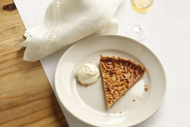 Lindsay's Almond Tart as seen in San Francisco, California, on Wednesday, July 27, 2011.  Food styled by Amanda Gold. Photo: Craig Lee, Special To The Chronicle