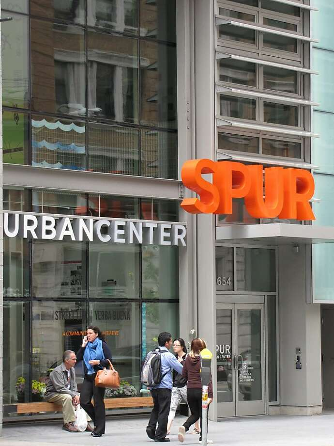 The SPUR Urban Center is an example of contemporary design that manages to be civil and contextual as well. Photo: John King
