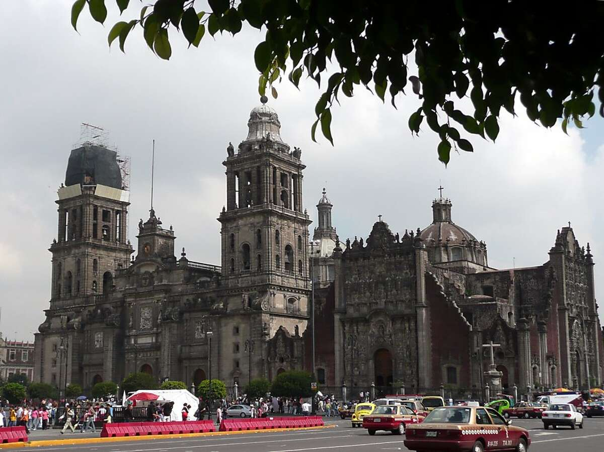 The Metropolitan Cathedral in Mexico City is the largest and oldest cathedral in Latin America. Begun in the 16th century, the cathedral dominates the city's huge plaza, the Zocalo. Mexico City -- Catedral Metropolitana on the Zocalo in the Centro Historico. Christine Delsol/Special to The Chronicle ONE-TIME USE ONLY Contact photographer for reuse