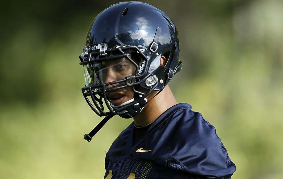 Defensive back, Sean Cattouse, (11) during practice, as the UC Berkeley Golden Bears football team opens their fall training camp in Berkeley, Ca. on Saturday August 6, 2011. Photo: Michael Macor, The Chronicle