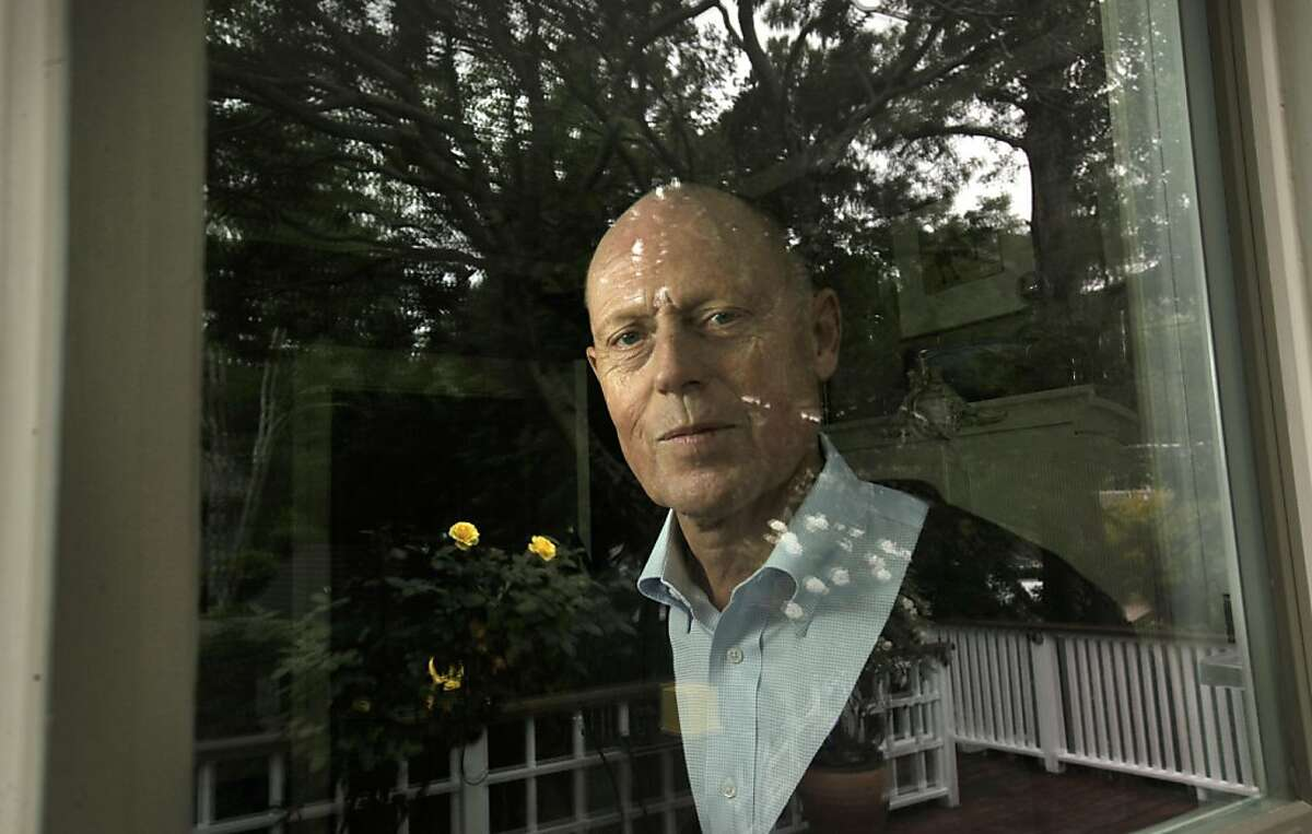 Anders Norlin at their home on Friday August 19, 2011 in Mill Valley, Ca. Anders Norlin, 55 is a local patient participating in clinical trails for a new drug to treat melanoma, a drug that was approved Wednesday by the Food and Drug Administration, months sooner than expected.
