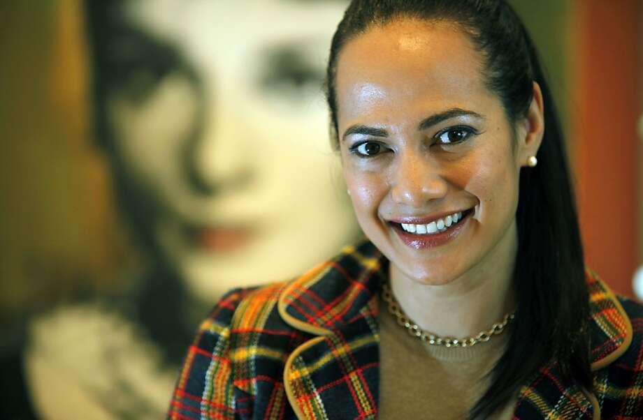 Gina Pell, chief for Splendora.com.Thursday Dec 3, 2009. Photo: Lance Iversen, The Chronicle