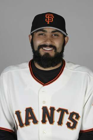 This is a 2011 photo of Sergio Romo of the San Francisco Giants baseball team. This image reflects the San Francisco Giants active roster as of  Wednesday, Feb. 23, 2011 when this image was taken.  (AP Photo/Marcio Jose Sanchez)  Ran on: 03-30-2011 Jeremy Affeldt (left), Javier Lopez and Sergio Romo each could get chances to close games in Wilson's absence. Ran on: 03-30-2011 Photo caption Dummy text goes here. Dummy text goes here. Dummy text goes here. Dummy text goes here. Dummy text goes here. Dummy text goes here. Dummy text goes here. Dummy text goes here.###Photo: giants30_PH_romo1298332800MLBPV AP###Live Caption:This is a 2011 photo of Sergio Romo of the San Francisco Giants baseball team. This image reflects the San Francisco Giants active roster as of  Wednesday, Feb. 23, 2011 when this image was taken.###Caption History:This is a 2011 photo of Sergio Romo of the San Francisco Giants baseball team. This image reflects the San Francisco Giants active roster as of  Wednesday, Feb. 23, 2011 when this image was taken.  (AP Photo-Marcio Jose Sanchez)###Notes:Sergio Romo###Special Instructions:For Editorial Use Only Ran on: 03-30-2011 Photo caption Dummy text goes here. Dummy text goes here. Dummy text goes here. Dummy text goes here. Dummy text goes here. Dummy text goes here. Dummy text goes here. Dummy text goes here.###Photo: giants30_PH_romo1298332800MLBPV AP###Live Caption:This is a 2011 photo of Sergio Romo of the San Francisco Giants baseball team. This image reflects the San Francisco Giants active roster as of  Wednesday, Feb. 23, 2011 when this image was taken.###Caption History:This is a 2011 photo of Sergio Romo of the San Francisco Giants baseball team. This image reflects the San Francisco Giants active roster as of  Wednesday, Feb. 23, 2011 when this image was taken.  (AP Photo-Marcio Jose San Photo: Marcio Jose Sanchez, AP