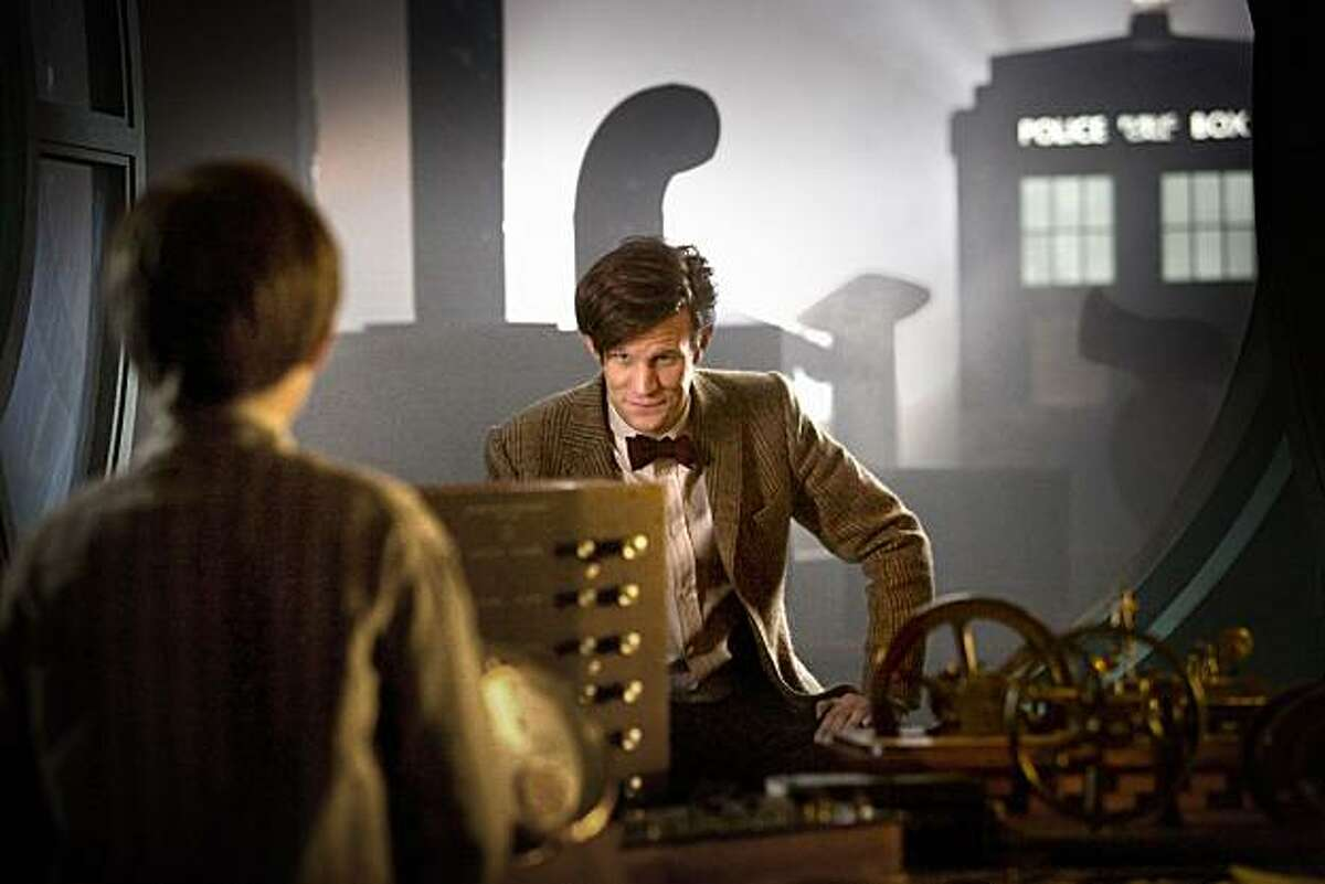 The Doctor (Matt Smith) of the BBC science fiction show