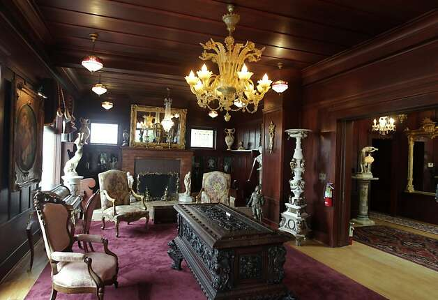 Eccentric sam 39 s castle to open for public viewing sfgate for The family room pacifica