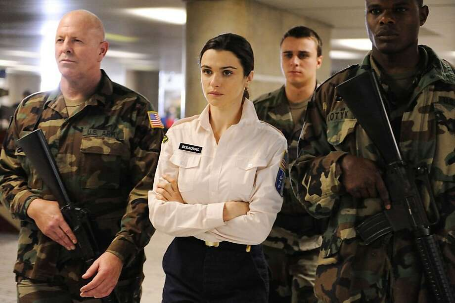 Rachel Weisz in THE WHISTLEBLOWER Photo: Sunrise Films, Outnow.ch