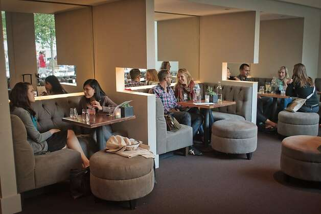 People enjoy the lounge at Bluestem Restaurant in San Francisco, Calif., on August 9th, 2011. Photo: John Storey, Special To The Chronicle
