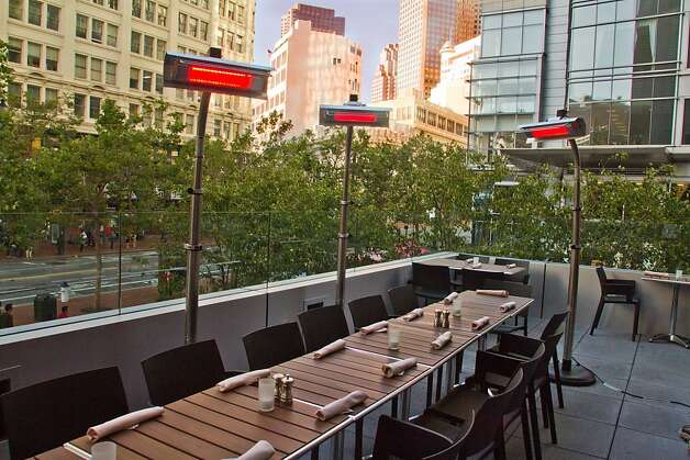 The outdoor deck at Bluestem Restaurant in San Francisco, Calif., is seen on August 9th, 2011. Photo: John Storey, Special To The Chronicle