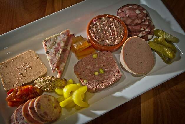 The Charcuterie Plate at Bluestem Restaurant in San Francisco, Calif., is seen on August 9th, 2011. Photo: John Storey, Special To The Chronicle