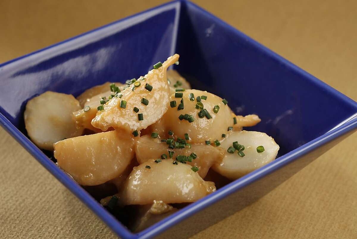 Miso turnips as seen in San Francisco, California, on Wednesday, August 3, 2011. Food styled by Sophie Brickman.