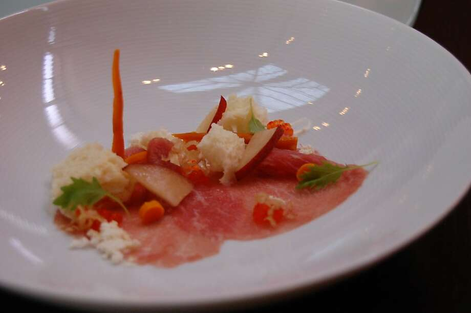 An Iberico Fresco dish at Alexander's Steakhouse. Photo: Clare Molla, The Chronicle
