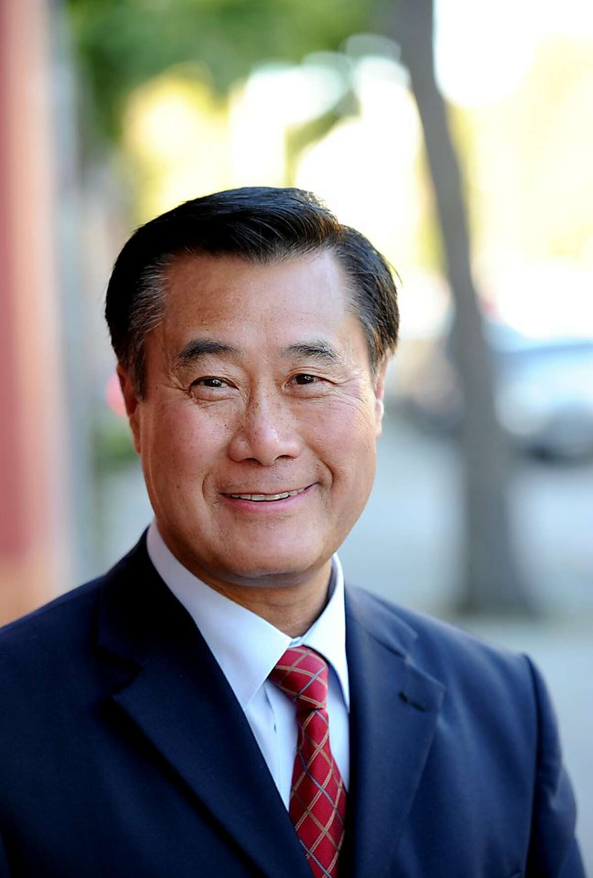 State Sen. Leland Yee, campaigning for mayor of San Francisco, poses for a portrait on Tuesday, July 19, 2011, in San Francisco.