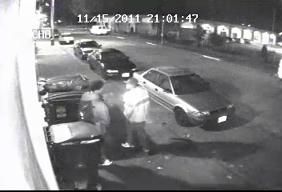 Police want to speak to the people pictured here in connection to the Nov. 15 beating of Danny Vega in South Seattle. Vega died Nov. 27 as a result of his injuries. They have not been named as suspects. The police tip line is (206) 233-5000, and they say anonymous tips are welcome. Photo: Seattle Police Department