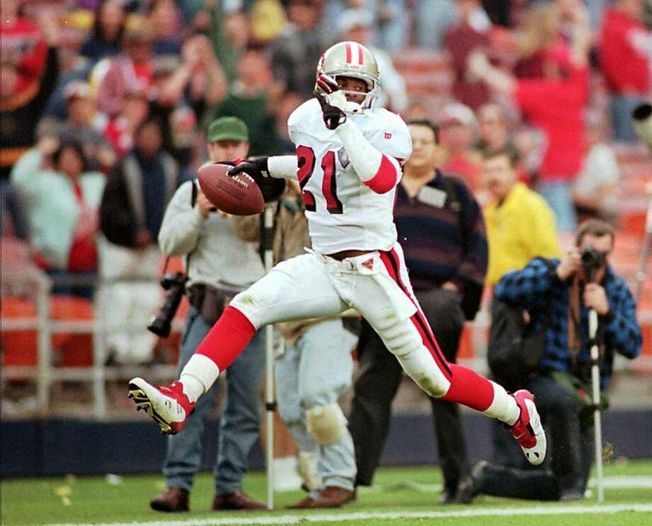 best website c38e7 0e287 Deion Sanders' year with 49ers was pure Prime Time - SFGate