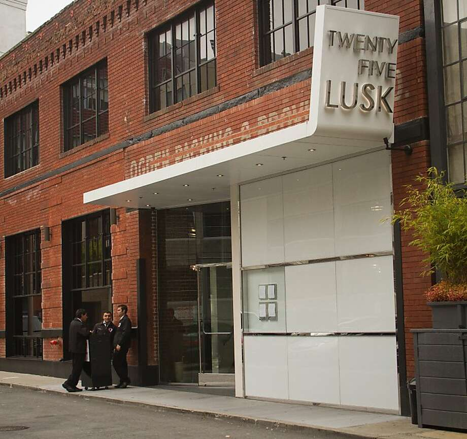 The exterior of 25 Lusk Restaurant in San Francisco, Calif., is seen on August 4th, 2011. Photo: John Storey, Special To The Chronicle