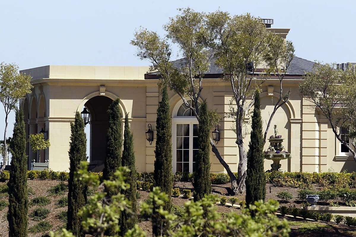 Exterior view of a $100 million mansion in Los Altos Hills, Calif., Thursday, March 31, 2011. A Russian billionaire investor has purchased a lavish, 25,500-square-foot mansion in Silicon Valley for $100 million, believed to be the most ever paid for a single-family home in the United States. The Wall Street Journal reports that 49-year-old Yuri Milner, an investor in Facebook, Groupon and Zynga, has no immediate plans to move into the home.