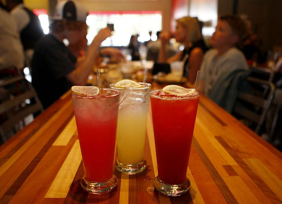 Roam restaurant in San Francisco, Calif. makes their own blend of different flavored sodas, they currently make 6 different flavors.