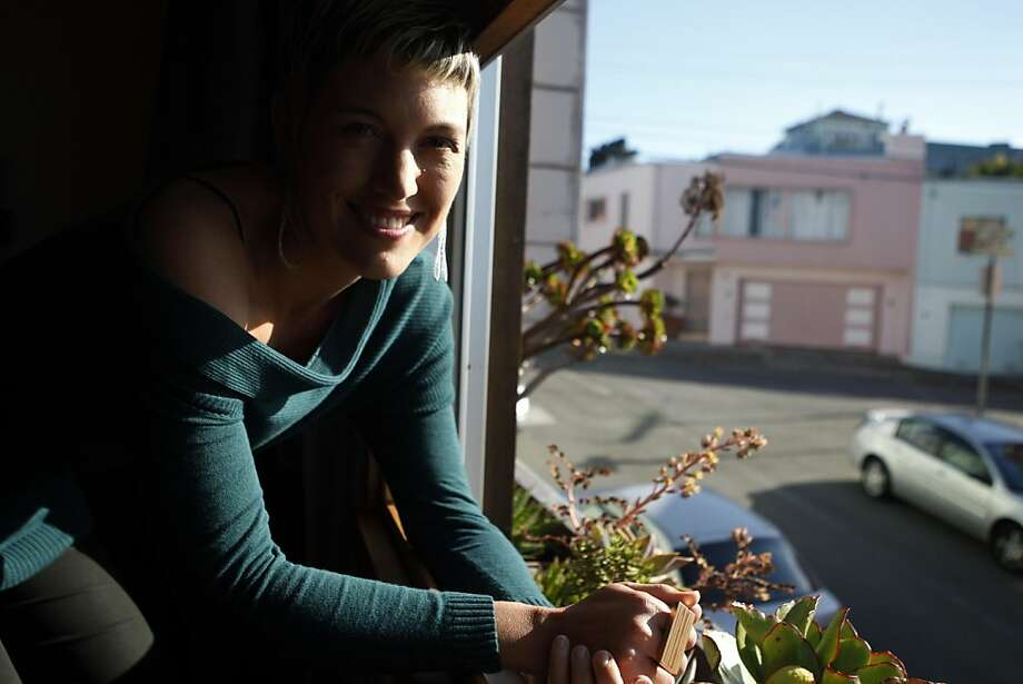 Eliza Hart and her husband are refinancing their house in Bernal Heights. Photo: Maddie McGarvey, The Chronicle