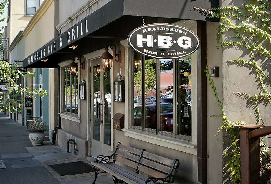 The exterior of Healdsburg Bar & Grill in Healdsburg, Calif., is seen on July 22nd, 2011. Photo: John Storey, Special To The Chronicle
