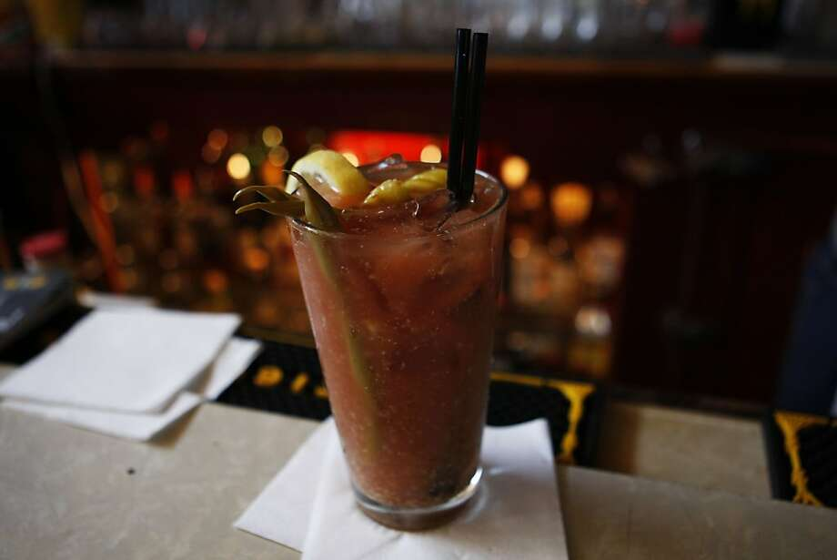 St. Mary's Pub is a refurbished pub that has a new, signature drink menu including Sunday Bloody Marys, which are served from noon to 4 PM every Sunday. Photo: Maddie McGarvey, The Chronicle