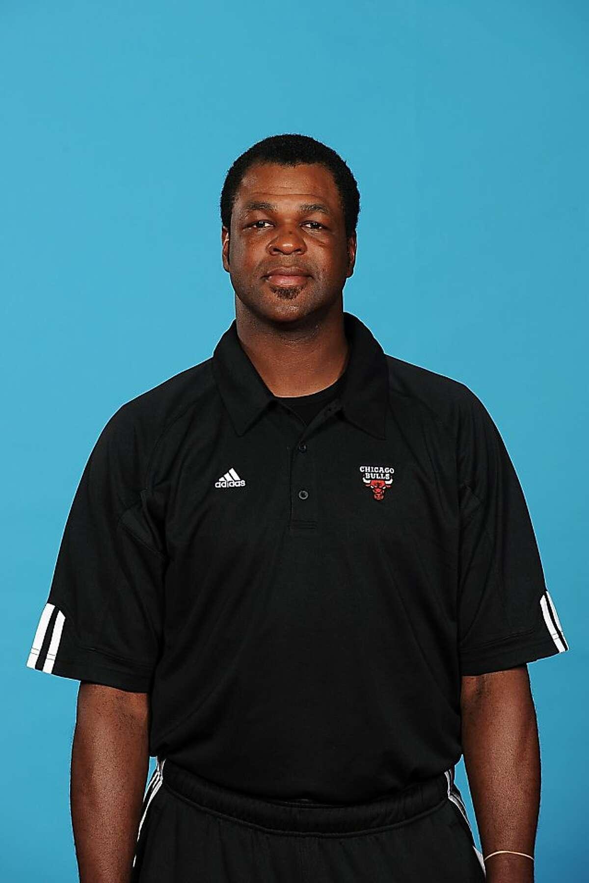 Pete Myers, assistant coach, Warriors, 2011.