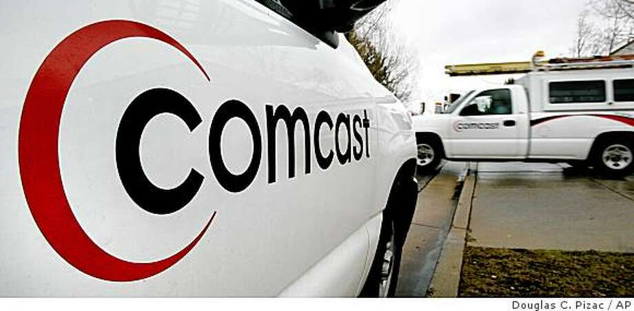 Comcast promised today that it would no longer target and block file-sharing protocols such as San Francisco?s BitTorrent.The nation?s largest cable provider said it would work with BitTorrent and ultimately other peer-to-peer file sharing technology providers to come up with new ways to speed traffic efficiently. Comcast said it would still manage traffic during peak periods but would not discriminate on specific applications, a recent practice that prompted federal scrutiny and pressure. Photo: Douglas C. Pizac, AP