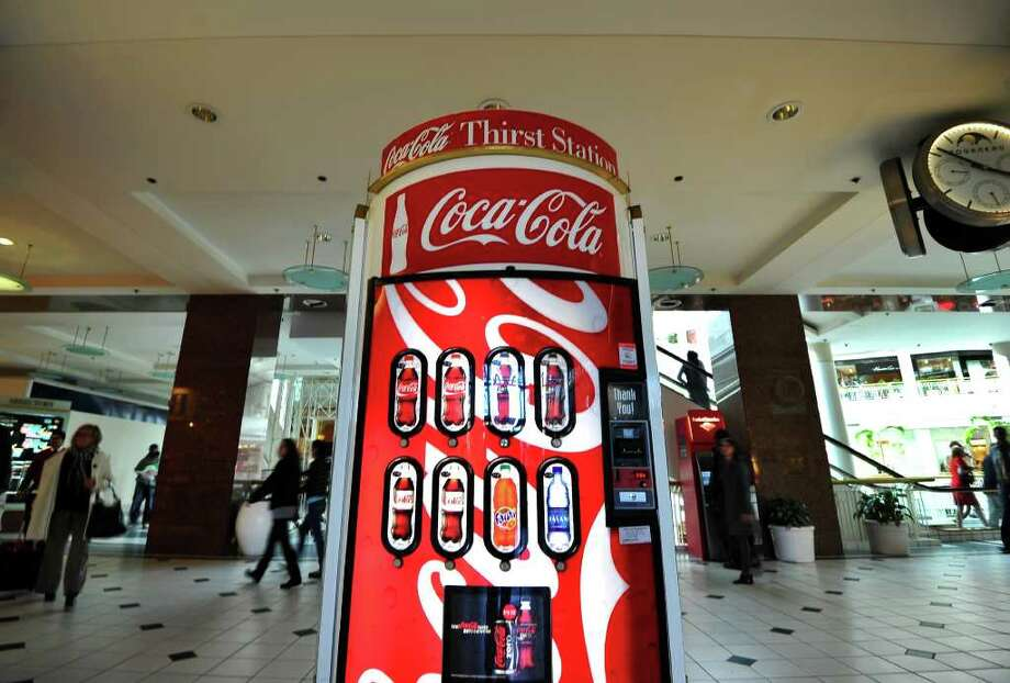 King County facilities may soon have only healthy options in vending machines. The Seattle Parks and Recreation Department already has that policy, as does Seattle Public Schools. Photo: Jewel Samad/Getty Images, AFP/Getty Images / AFP