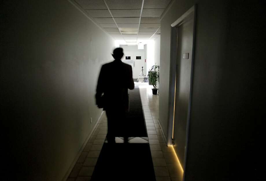 Harold Camping of Family Radio in Oakland, Ca. on Saturday May 14, 2011, walks to his car following his nightly radio program Open Forum. Camping has been saying that the world will end May 21, 2011. Photo: Michael Macor, The Chronicle